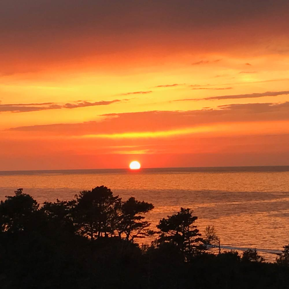 Veranda Sonnenuntergang