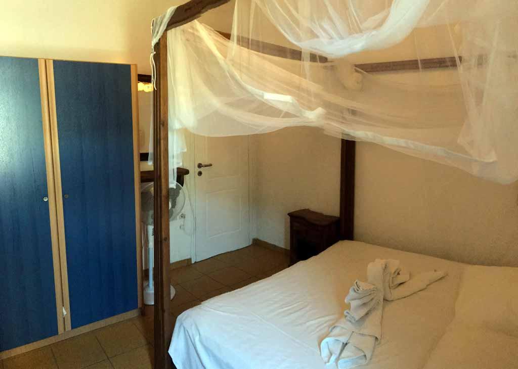 Ferienhaus Petros Schlafzimmer