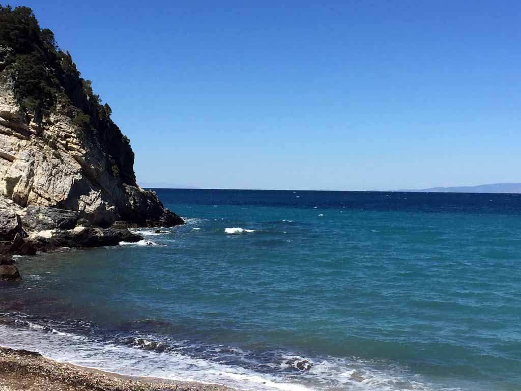Stimmungsbild Potami Strand